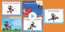 Songs and Rhymes PowerPoints Pack to Support Teaching on Room on the Broom