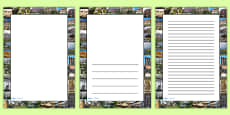 Houses and Homes Photo Page Borders