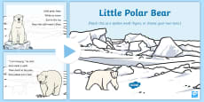 Little Polar Bear Rhyme Song PowerPoint
