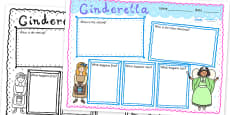 Cinderella Story Review Writing Frame