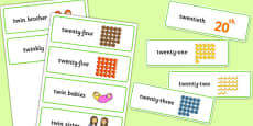 Three Syllable TW Word Cards