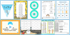 * NEW * 9 Times Table Resource Pack