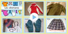 Clothing Photo PowerPoint French