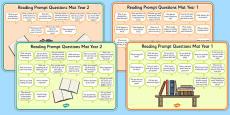 2014 Curriculum Reading Prompt Questions Mats KS1