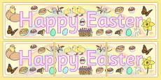 Happy Easter Display Banner (2)