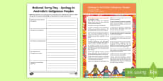 National Sorry Day Apology Analysis Activity Sheet
