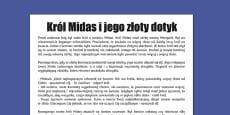 King Midas Story Print-Out Polish