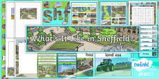 PlanIt - Geography Year 4 - What's It Like in Sheffield? Unit Additional Resources