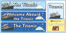 The Titanic Display Pack