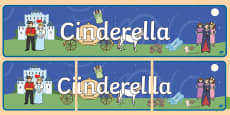 Cinderella Display Banner