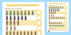 Australia - Rapunzel Counting Sheet