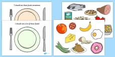 Healthy Eating Sorting Activity