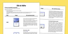 Eid al-Adha Assembly Script