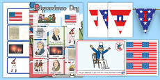 American Independence Day Classroom Decoration Pack