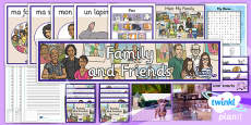 PlanIt - French Year 3 - Family and Friends Unit Additional Resources