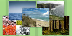 Physical Geography Photo Clip Art Pack