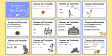 Year 3 Grammar and Punctuation Challenge Cards