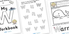 My 'W' Workbook