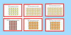 Year 2 Maths Array Challenge Cards