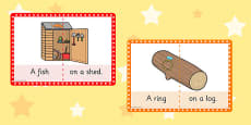 Stage 2 Phonics Picture Cards