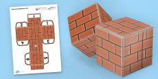 Textured Paper Blocks (Bricks)