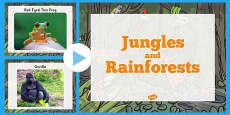 Jungle and Rainforest Photo PowerPoint