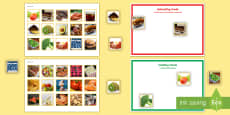 * NEW * Workstation Pack: Healthy Eating Activity