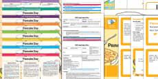 * NEW * EYFS Pancake Day Bumper Planning Pack