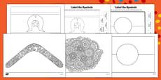 NAIDOC Week Colouring Pages