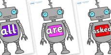 Tricky Words on Robots