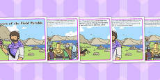 The Flowers of the Field Parable Story Cards