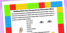 Building Brick Therapy Group Information Sheet