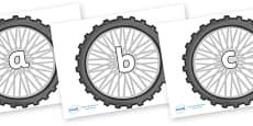 Phase 2 Phonemes on Bike Wheels