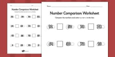 Stone Soup Number Comparison Activity Sheets
