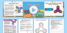 * NEW * Post-KS2 SATs Fidget Spinner Resource Pack