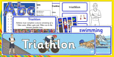 Rio 2016 Olympics Triathlon Resource Pack