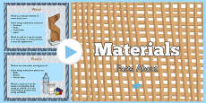 Materials Information PowerPoint