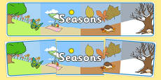 Four Seasons Display Banner (All Seasons)