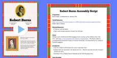 Robert Burns Assembly Pack