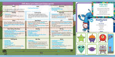 * NEW * EYFS Enhancement Ideas and Resources Pack to Support Teaching on Aliens Love Underpants