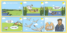 The Ugly Duckling Story Sequencing