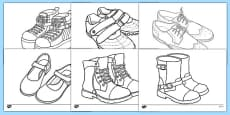 Shoe Design Template