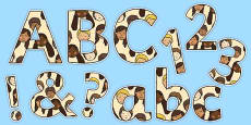 We Are All Special! Display Letters and Numbers Pack