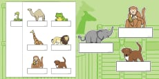 Self-Registration to Support Teaching on Dear Zoo