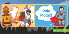 Superhero Themed Behaviour Reward Chart A4 Display Poster
