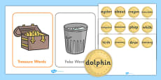 Phase 5 Buried Treasure Phonics Game