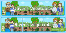 Oliver's Vegetables Display Banner