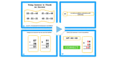 Year 3 Inverse Lesson 3 Checking Subtraction Calculations with Addition PowerPoint