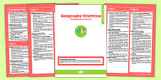 Australian Curriculum Foundation to Year 6 Overview Booklet Geography