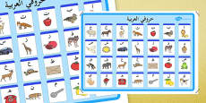 Alphabet Poster Arabic